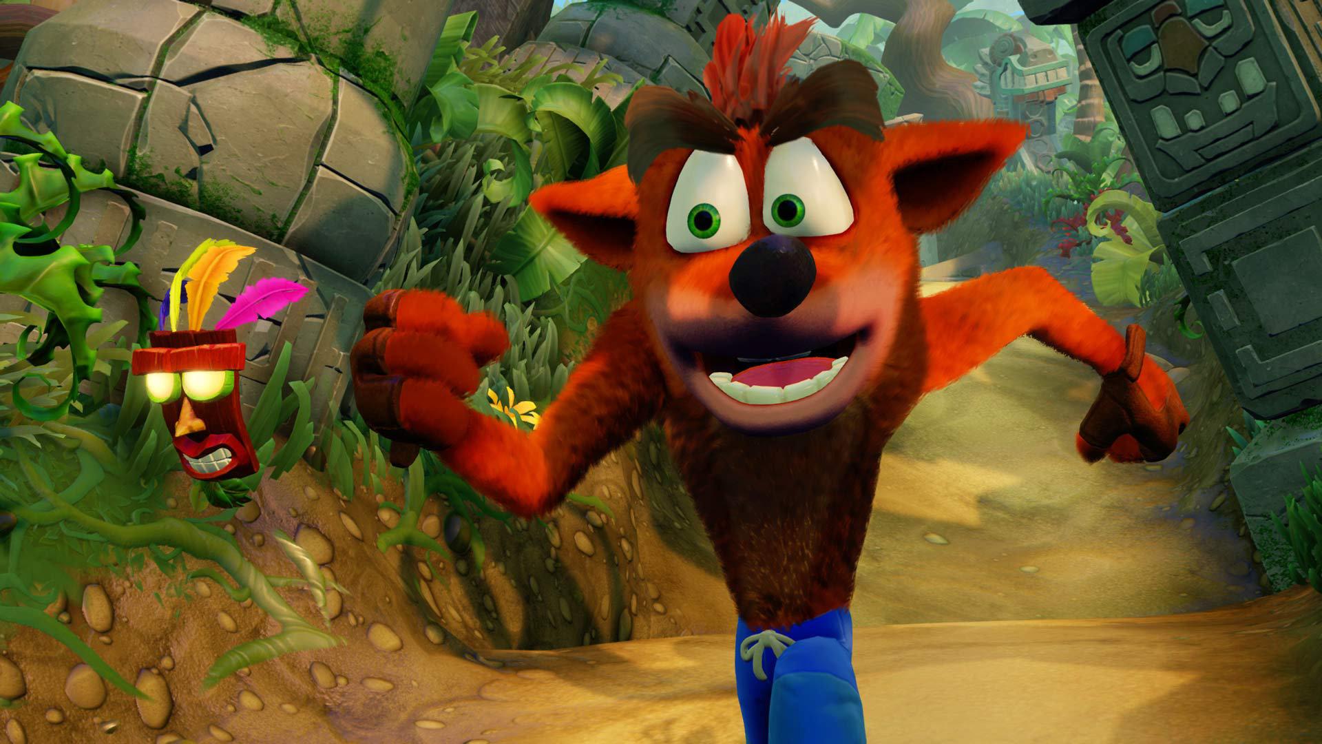 Jocuri în 2017 - Crash Bandicoot N. Sane Trilogy