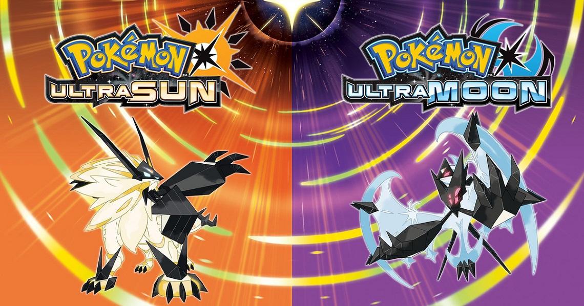Pokemon: Ultra Sun and Ultra Moon